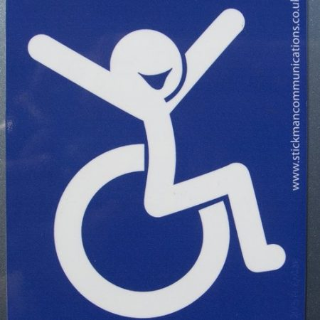 Mobility and accessibility stickers