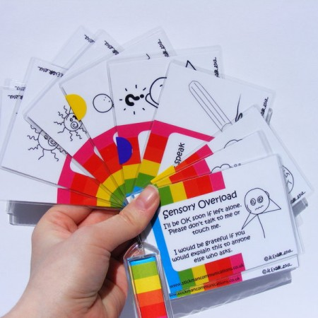 conditions and impairments Key Cards and lanyards