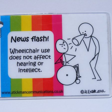 wheelchair use key card