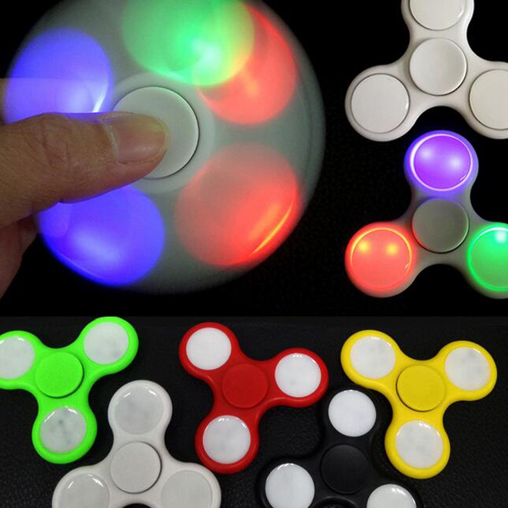 T Led Fidget Spinner Toy Positive Difference Iow