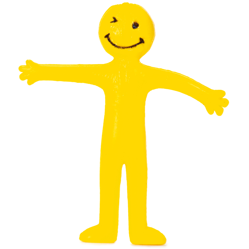 stretchy smiley man