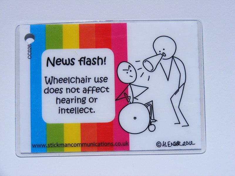 wheelchair use key card