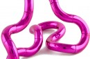 tangle metallic pink